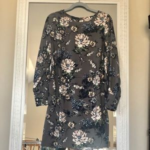 Loft Floral Shift Dress